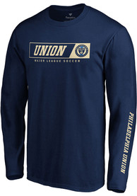Philadelphia Union Chase Down T Shirt - Navy Blue