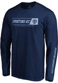 Sporting Kansas City Chase Down T Shirt - Navy Blue