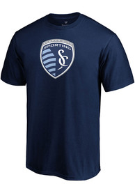 Sporting Kansas City Official Logo T Shirt - Navy Blue