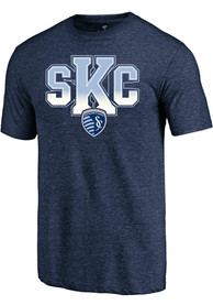 Sporting Kansas City Hometown Fashion T Shirt - Navy Blue