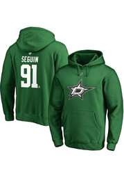 Tyler Seguin Dallas Stars Name And Number Long Sleeve T-Shirt - Green