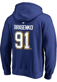 Vladimir Tarasenko St Louis Blues Name And Number Long Sleeve T-Shirt - Blue
