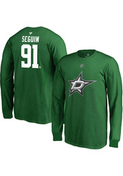 Tyler Seguin Dallas Stars Youth Name and Number T-Shirt - Green