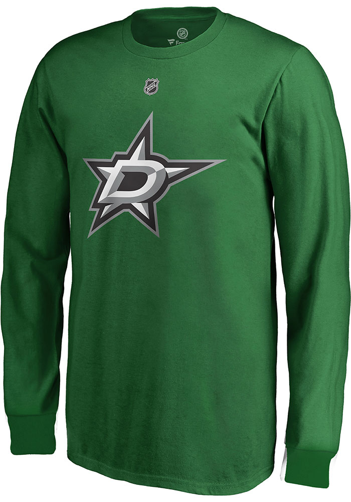 Tyler Seguin Dallas Stars Youth Green Name & Number Player Tee - Image 3