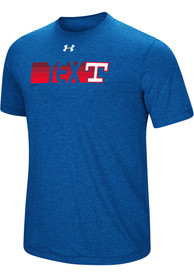 Texas Rangers Under Armour Fading Fast Fashion T Shirt - Blue