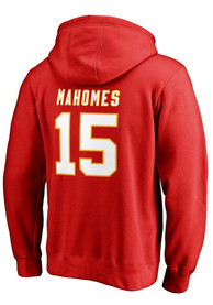 7d2620b3 Patrick Mahomes Kansas City Chiefs Mens Red Name & Number Player Hood