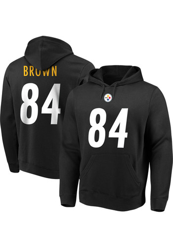78a54b27710 Shop Pittsburgh Steelers Antonio Brown Sweatshirts & Sweaters Clearance