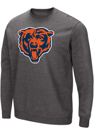 Chicago Bears Majestic Perfect Play Crew Sweatshirt - Charcoal