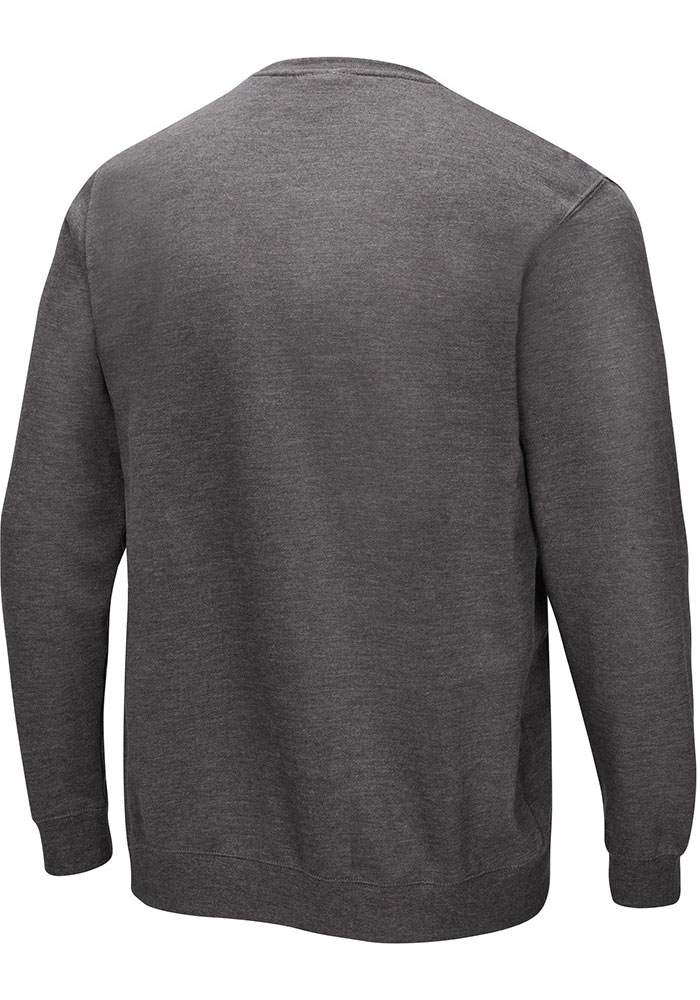 Majestic Chicago Bears Mens Grey Perfect Play Long Sleeve Crew Sweatshirt - Image 2