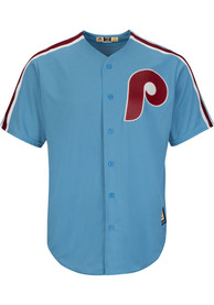Philadelphia Phillies Majestic 2019 Throwback Cooperstown - Light Blue