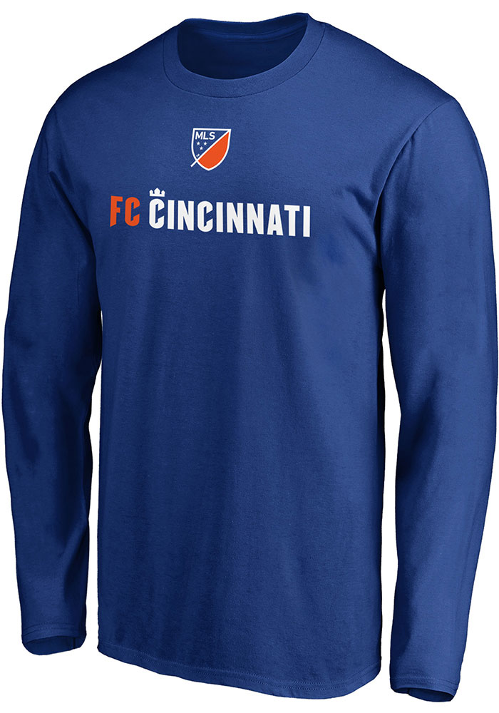 FC Cincinnati Shielded T Shirt - Blue