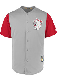 best service c27f7 7511c Cincinnati Reds Majestic Replica 1956 Throwback Jersey