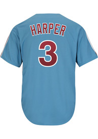 the best attitude 9bfa6 6570e Bryce Harper Philadelphia Phillies Replica Throwback Jersey