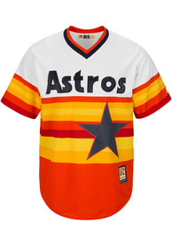 reputable site 261f2 5d93e Houston Astros Majestic Replica Throwback Jersey