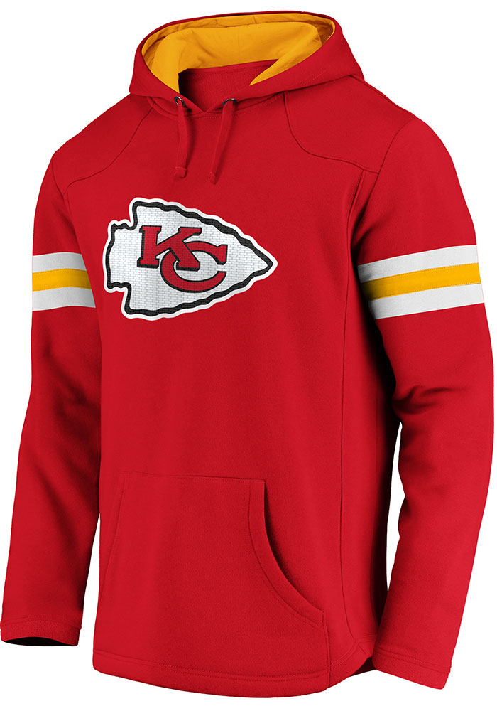 Kansas City Chiefs Mens Red Red Zone Hood - Image 1