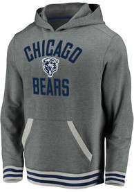 Chicago Bears Vintage POH Fashion Hood - Grey