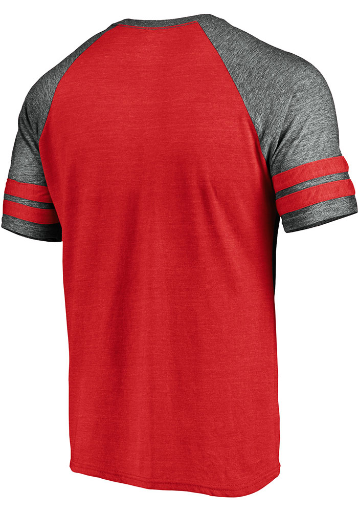 Kansas City Chiefs Red Classic Arch Short Sleeve Fashion T Shirt - Image 2