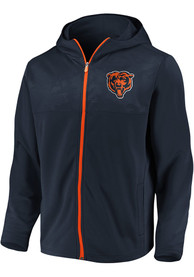 Chicago Bears Defender Mission Zip - Navy Blue