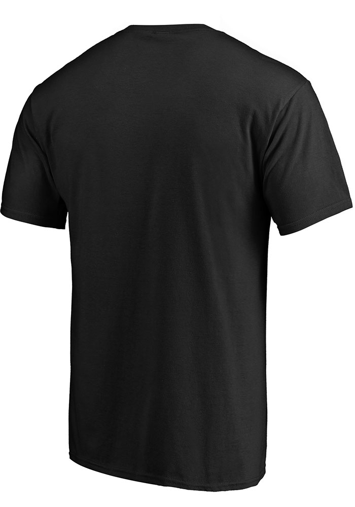 Kansas City Chiefs Black Arc Logo Short Sleeve T Shirt - Image 2