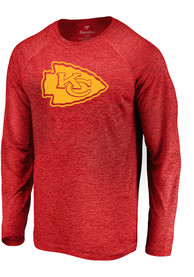 Kansas City Chiefs Striated Tonal T-Shirt - Red