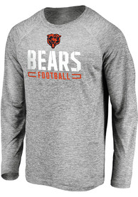 Chicago Bears Engage Stack T-Shirt - Grey