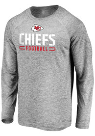 Kansas City Chiefs Engage Stack T-Shirt - Grey