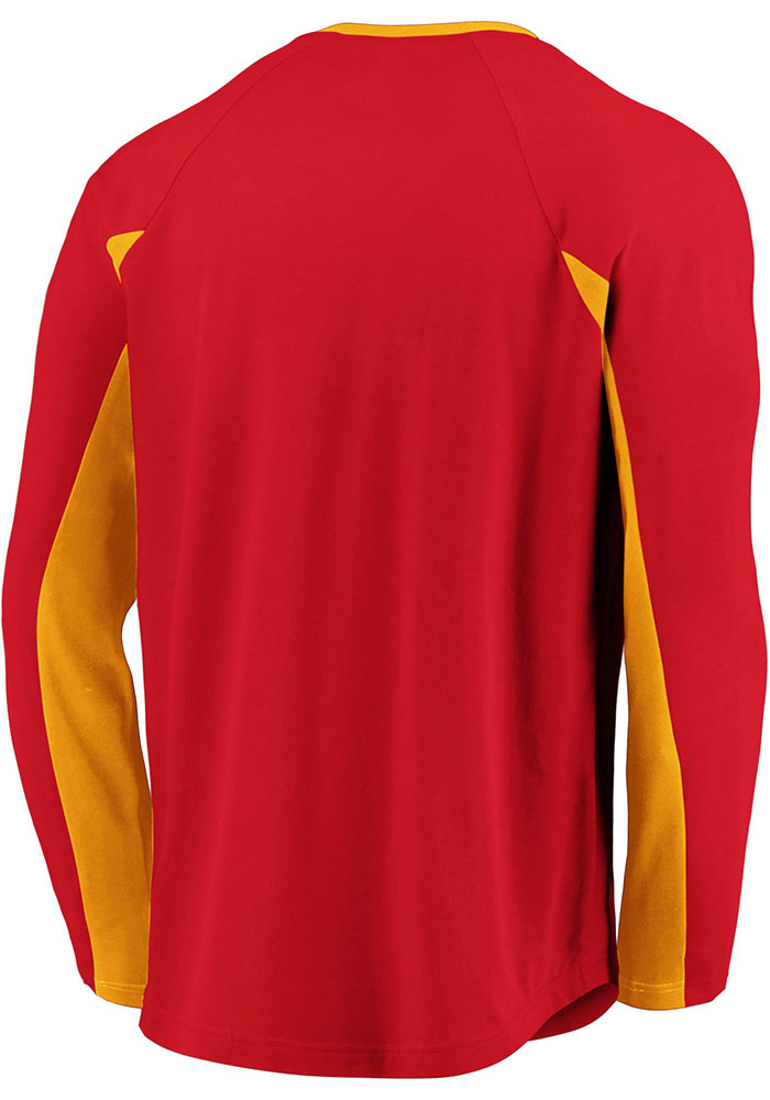 Kansas City Chiefs Red Flex Blend Engage Long Sleeve T-Shirt - Image 2