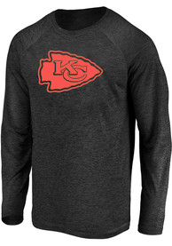 Kansas City Chiefs Striated Tonal T-Shirt - Black