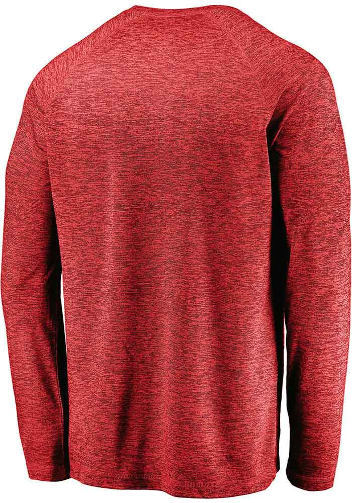 Kansas City Chiefs Red Engage Stack Long Sleeve T-Shirt - Image 2
