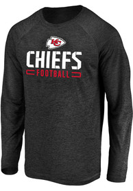 Kansas City Chiefs Engage Stack T-Shirt - Black