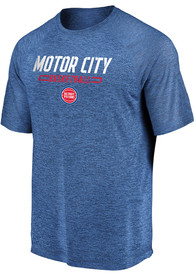 Detroit Pistons Hometown T Shirt - Blue