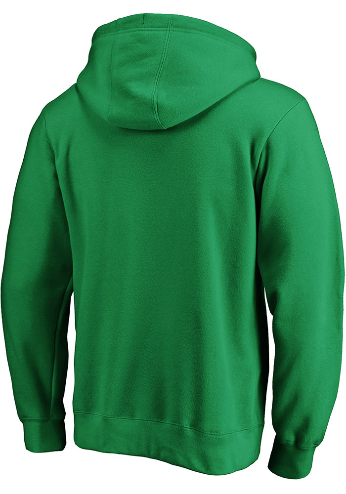 Dallas Stars Mens Kelly Green Engage Arch Long Sleeve Hoodie - Image 2