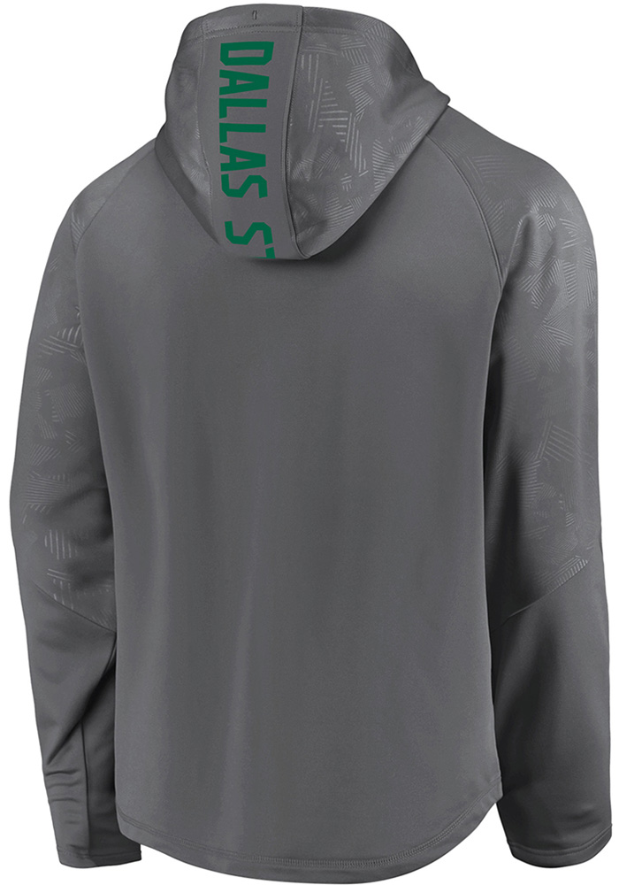 Dallas Stars Mens Charcoal Dfndr Mono Engage Hood - Image 2