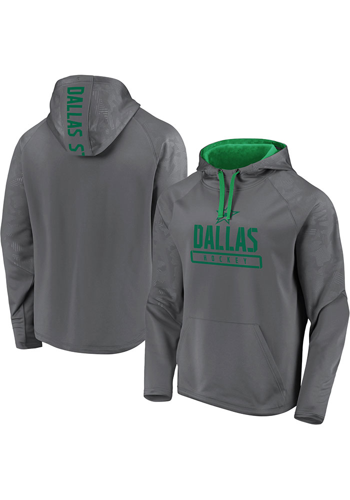 Dallas Stars Mens Charcoal Dfndr Mono Engage Hood - Image 3