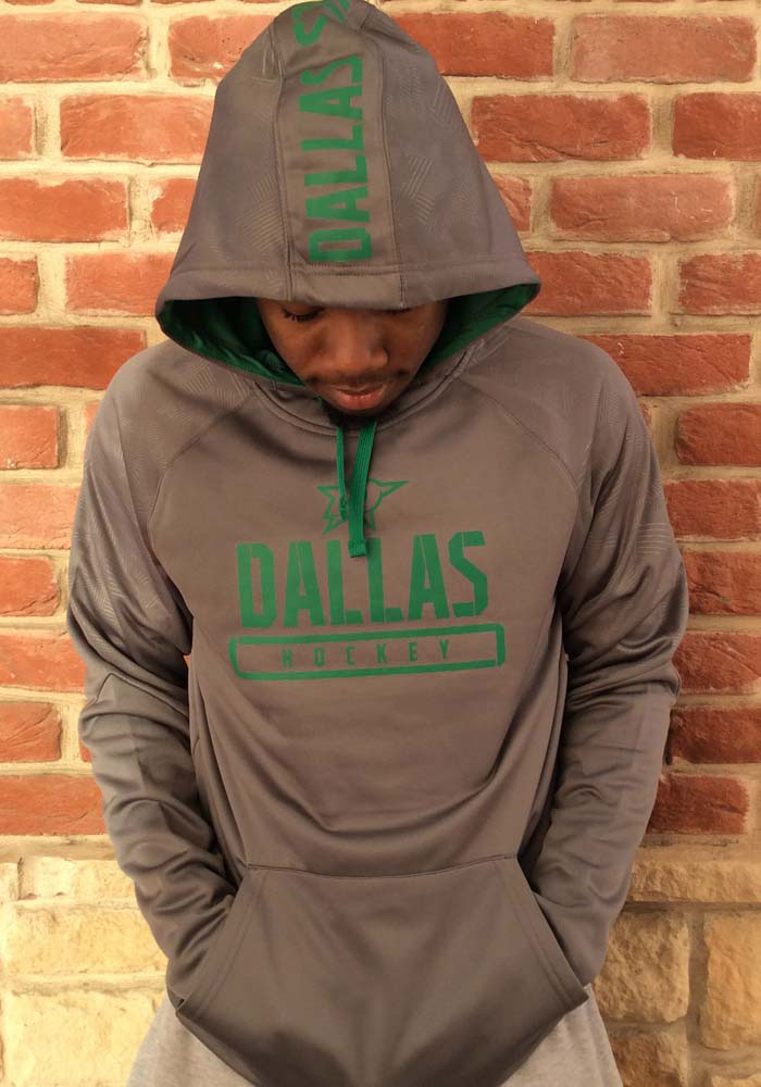 Dallas Stars Mens Charcoal Dfndr Mono Engage Hood - Image 4