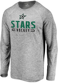 Dallas Stars Engage Stack T-Shirt - Grey