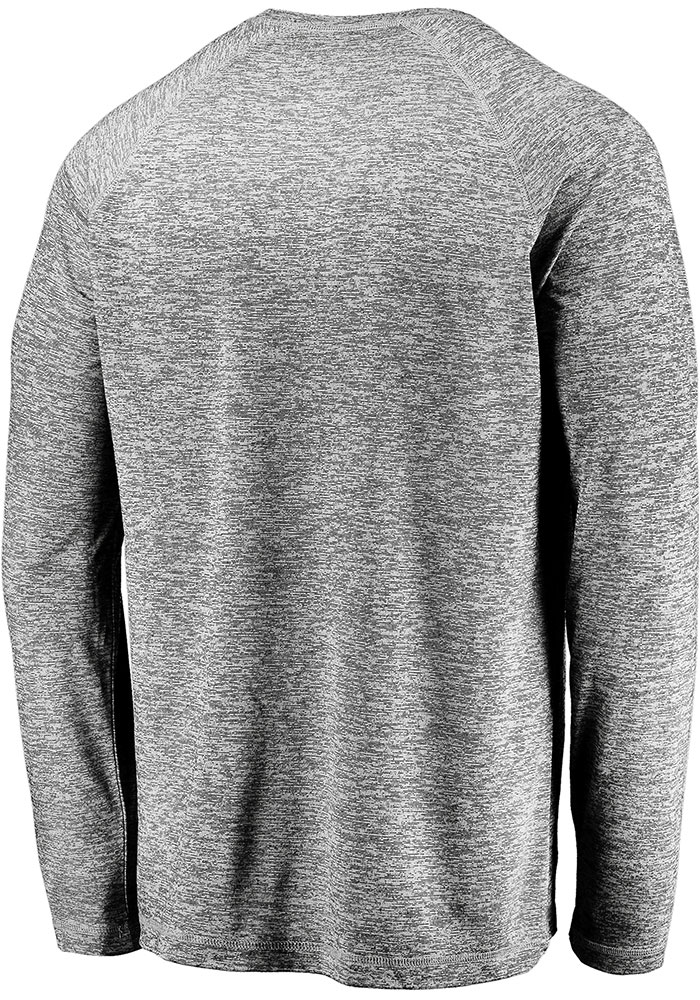 Dallas Stars Grey Stri Engage Stack Long Sleeve T-Shirt - Image 2