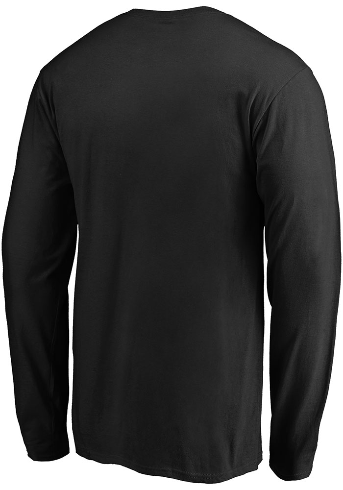Dallas Stars Black Team State Pride Long Sleeve T Shirt - Image 2