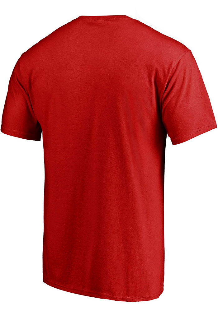 Patrick Mahomes Kansas City Chiefs Red 2018 MVP Short Sleeve Player T Shirt - Image 2