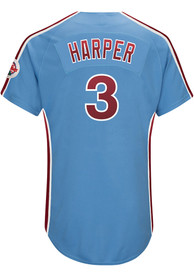 pretty nice 0d67f bf3b8 Bryce Harper Philadelphia Phillies Authentic Throwback Jersey