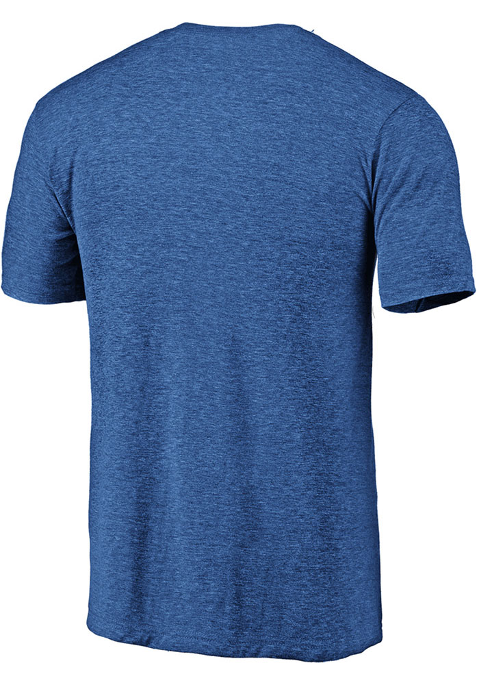 FC Cincinnati Blue Throwback Logo Short Sleeve Fashion T Shirt - Image 2
