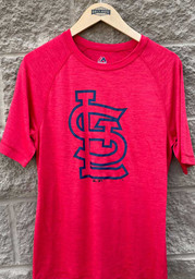 St Louis Cardinals Primary Logo T Shirt - Red