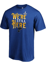 sale retailer fab33 09c1f St Louis Blues Blue We re Still Here Tee