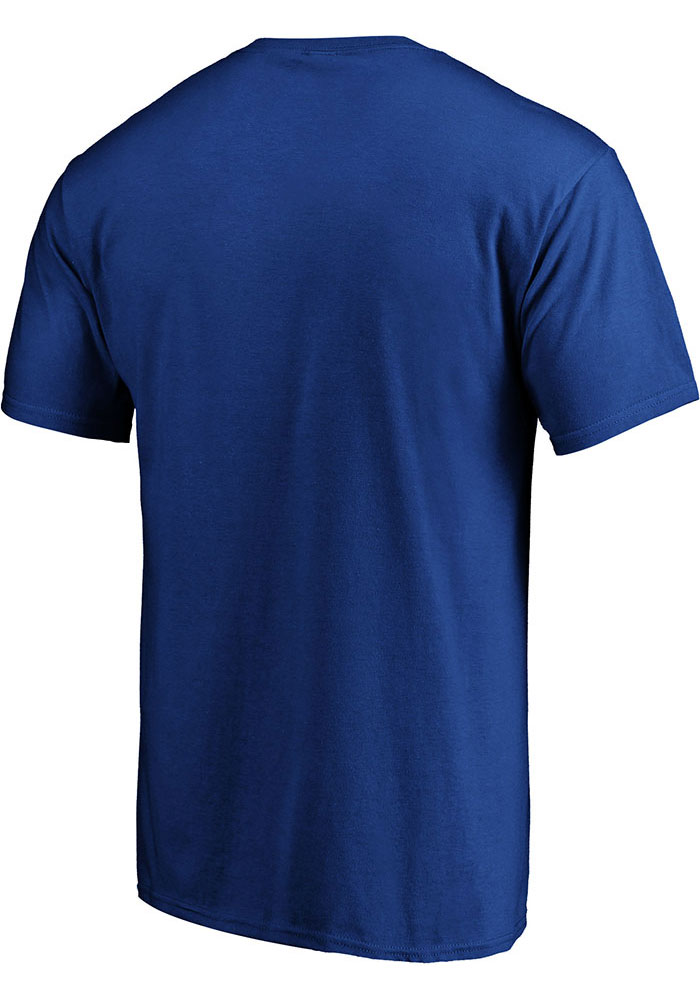St Louis Blues Blue We're Still Here Short Sleeve T Shirt - Image 2