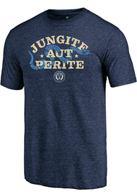 Philadelphia Union Jungite Aut Perite Fashion T Shirt - Navy Blue