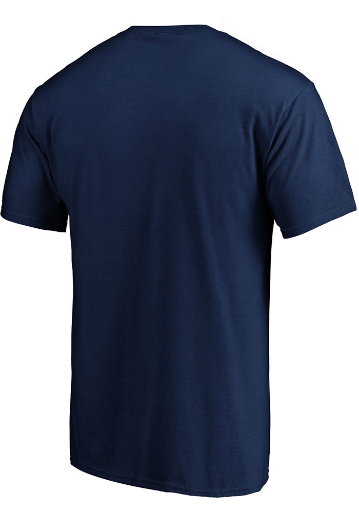 Sporting Kansas City Navy Blue Iconic Cotton Ombre Short Sleeve T Shirt - Image 2