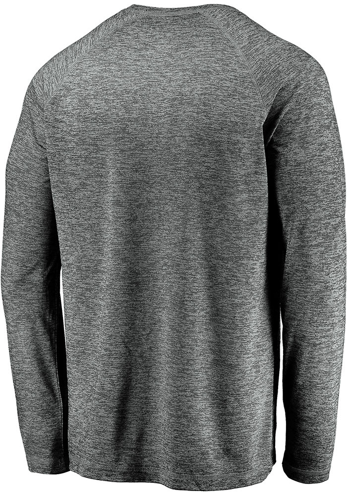 Sporting Kansas City Grey Striated Stack Fade Long Sleeve T-Shirt - Image 2
