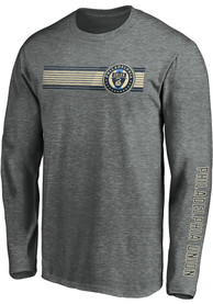 Philadelphia Union Stripe Fade T Shirt - Grey