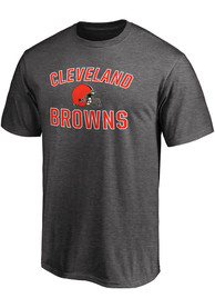 Cleveland Browns Majestic Victory Arch Neutral T Shirt - Grey
