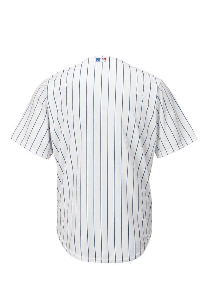 Chicago Cubs Mens Majestic Replica Player Jersey - White - Image 2